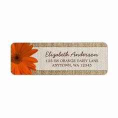>>>Low Price          	Orange Daisy Rustic Burlap Address Return Address Labels           	Orange Daisy Rustic Burlap Address Return Address Labels online after you search a lot for where to buyReview          	Orange Daisy Rustic Burlap Address Return Address Labels Here a great deal...Cleck Hot Deals >>> http://www.zazzle.com/orange_daisy_rustic_burlap_address_label-106713902119787084?rf=238627982471231924&zbar=1&tc=terrest