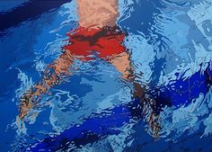 Aleksandra Matulewicz  acrylic on canvas 140 x 100 cm