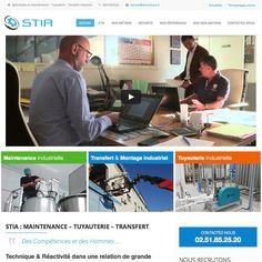 Site web de STIA http://www.stia-france.fr #wordpress