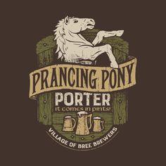 Porter del Poney Pisador. Diseño de Cory Freeman | El Anillo Único