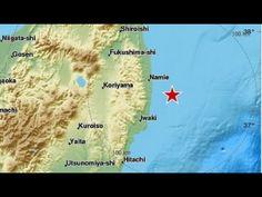 Japan earthquake. 7.3 magnitude strikes off Fukushima. Tsunami warning issued - YouTube
