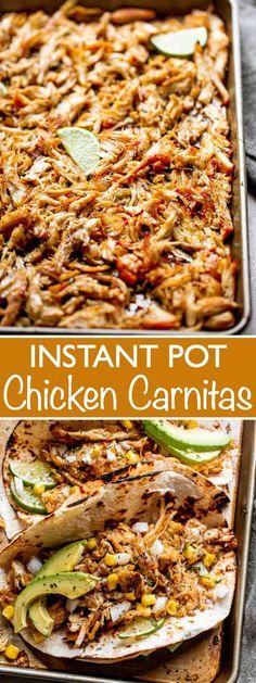Chicken Taco Recipes, Mexican Food Recipes, Mexican Chicken Tacos, Chicken For Nachos, Easy Chicken Tacos, Chicken Tender Recipes, Recipe Chicken, Ethnic Recipes, Chicken Recipes