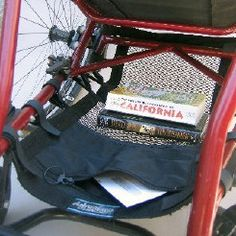 WH195  Wallaby Catch All  Wheelchair   Under Seat Cargo Net with Pocket