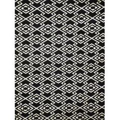 Vintage Japanese indigo cotton in matsukawa hishi katazome pattern