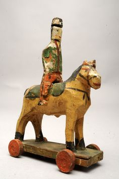 Cavalry soldier toy