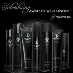 The best hair treatment EVER! Paul Mitchell's Awapuhi Wild Ginger Hair Care Line.