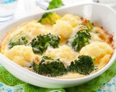 Gratin de chou fleur et brocoli à la mimolette : http://www.fourchette-et-bikini.fr/recettes/recettes-minceur/gratin-de-chou-fleur-et-brocoli-a-la-mimolette.html