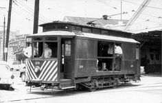 The Carrollton Streetcar in the 1960's. #nola #history