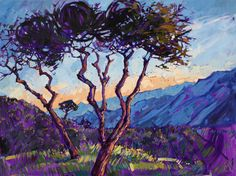Sunland Oil Painting by Erin Hanson