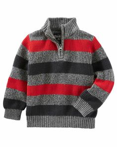 Baby Boy Ski Lodge Sweater from OshKosh B'gosh. Shop clothing & accessories… Baby Boy Ski Lodge Sweater from OshKosh B'gosh. Knit Baby Sweaters, Toddler Sweater, Boys Sweaters, Ski Sweater, Boys Knitting Patterns Free, Knitting For Kids, Toddler Girl Outfits, Kids Outfits, Mens Fashion Sweaters