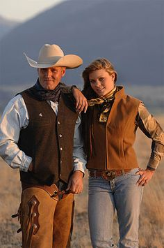 Wyoming Traders western wear so you look good out there on the prairie or on the dance floor! Cowboy And Cowgirl, Cowgirl Style, Cowboy Hats, Western Vest, Western Suits, Cowboy Outfits, Casual Outfits, Men's Outfits, Cowboy Action Shooting