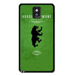 Game of Thrones - house mormont Samsung Galaxy S3 S4 S5 Note 3 Case