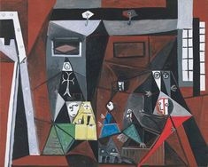 The chronology of Las Meninas of Picasso | Museum Picasso Blog