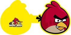 Montando a minha festa: Convites Angry Birds
