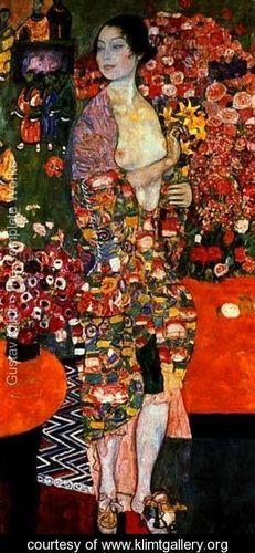 Die Tanzerin (The Dancer) 1916-18 - Gustav Klimt - www.klimtgallery.org