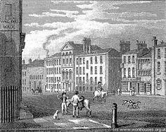 """""""Places like Clerkenwell workhouse held 320 inmates in the but was built for only 150 people. London Pictures, Old London, London England, Family History, Old Town, 18th Century, Genealogy, Old Photos, Uni"""