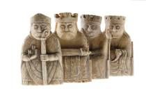 These medieval chess pieces from the Scottish island of Lewis are among our most popular collections. They give us fascinating insights into the international connections of western Scotland and the growing popularity of chess in medieval Europe. Chess Pieces, Game Pieces, Edinburgh, Perth, Small Figurines, Early Middle Ages, Archaeological Finds, Celtic Art, Viking Age