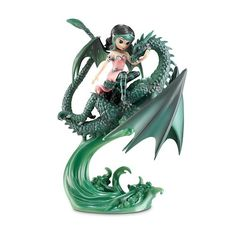 Jasmine Becket-Griffith Figurines | Figurine Depot Jasmine Becket-Griffith's Dragon And Fairy Figurine ...