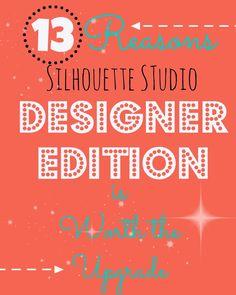 Silhouette Studio Designer Edition: 13 razones por las que vale la actualización