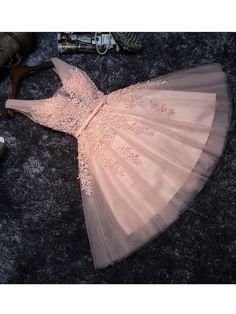 A-line Homecoming Dress Straps Short/Mini Prom Drsess Juniors Homecoming Dresses SKY011