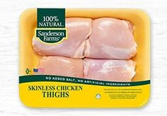Find Chicken recipes, cooking tips, and learn why Sanderson Farms natural chicken is the best chicken for feeding your family. Pan Roasted Chicken Thighs, Herb Roasted Chicken, Glazed Chicken, Chicken Tenders, Fried Chicken, Chicken Wings, Casserole Recipes, Soup Recipes, Cooking Recipes