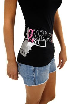 Glock Short Sleeve (Black) | Girls With Guns