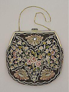 1930s handbag for an evening out | 1 - POINT DE BEAUVAIS