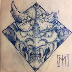 One more hannya mask. Will probably do more of them for tshirts prints #japanesetattoo @crazyytattoos @inkedmag #tattoo #tatuaz #tattoosnob #inked_fx #superb_tattoos #superbtattoos #instagood #tattooistartmag #pictureoftheday #artist #art #ink #tattoos #inkedmag #custom #crazyytattoos #customtattoo #customdesign #inkfreakz #the_inkmasters #japanese #japanesetattoosub #japanesecollective #supportgoodtattooers #irezumicollective @japanesetattoo #hannya #gdansk #gdynia