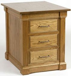 33% Off Sterling End Table in Oak   Solid Wood Amish Furniture