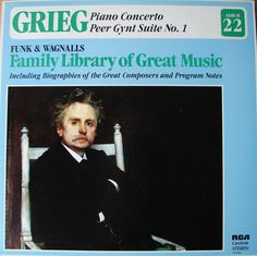 Grieg / Funk & Wagnalls Family Library of Great Music