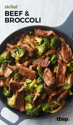 This tastes just like the real deal, promise. Use your trusty skillet to create an easy version of Chinese beef with broccoli in just 30 minutes (which is less time than it takes to have it delivered).