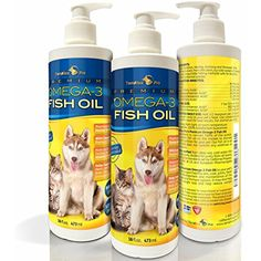 TerraMax Pro Liquid Omega-3 Fish Oil for Dogs and Cats, 16 Fl. Oz. -- Details can be found by clicking on the image. (This is an affiliate link) #Cats