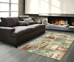 Carpet Flooring Modern Living Room Design