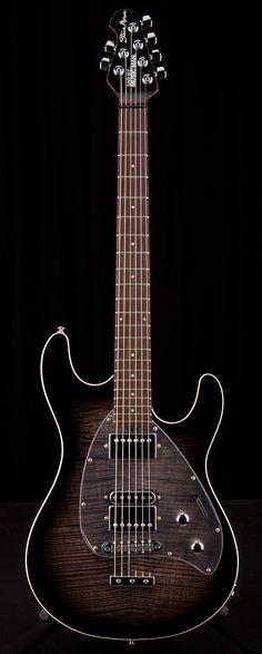 MUSIC MAN Dark Lord Morse Black Burst GC Exclusive | Guitar Center