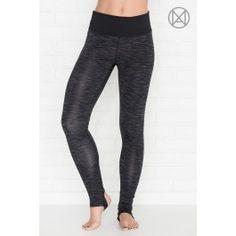 Mixed black athletic MOVE leggings