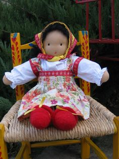 """My Mommy Makes It: Russian """"Nesting"""" Waldorf Doll"""