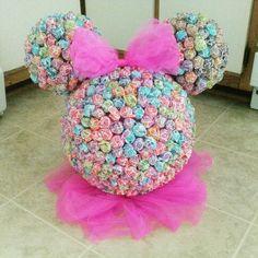 Minnie Mouse Sucker Head