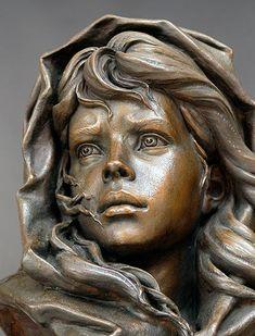 Maestro en la escultura de retrato obras originales