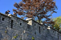 Seoul City Wall at Changsin-Dong, Seoul, Korea