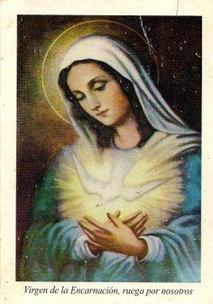 Caminata de la Encarnacion. Oración para acompañar a la Virgen durante sus 9 meses de embarazo. Se reza todos los días 25: desde el 25 de Marzo hasta el 25 de Diciembre para pedir a la Virgen tres gracias muy difíciles.