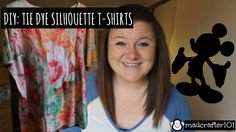 CLICK THE 'FOUND ON YOUTUBE' BUTTON TO WATCH THIS VIDEO. Easy DIY for an awesome Tie-Dye Silhouette t-shirt. You will not regret watching and liking. It's so awesome. I promise. Just try.