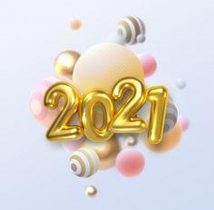Happy new 2021 year. holiday illustratio... | Premium Vector #Freepik #vector