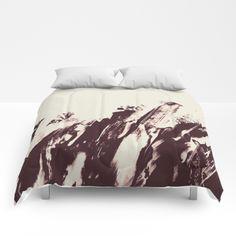 Sea in Winter Comforters by swavstudio Bedtime, Comforters, Sea, Blanket, Winter, Furniture, Home Decor, Creature Comforts, Winter Time