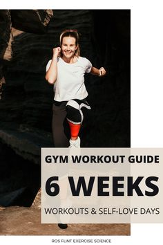Gym Workout Guide, 6 Week Workout Plan, Fun Workouts, At Home Workouts, Time Based, Love Days, Activity Days, Workout For Beginners, Self Love