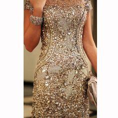 yeni sezon dore payetli elbise satın al moda renkler
