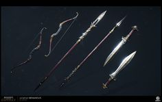 Assassins Creed Origins, Assassins Creed Odyssey, Bastard Sword, Classical Period, Fantasy Concept Art, Apocalyptic Fashion, Weapon Concept Art, Fantasy Weapons, Shadowrun