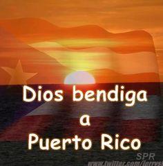 Dios bendice a Puerto Rico