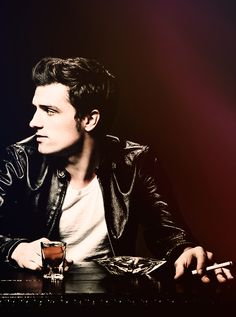 """""""As an actor, you're always playing different people, so you yourself are always kind of going through an identity crisis."""" - Josh Hutcherson"""