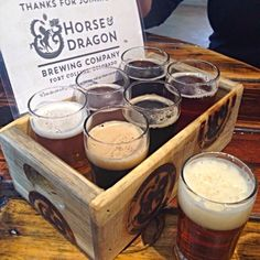 Horse & Dragon brewing. My favorite is the Sad Panda Coffee Stout.