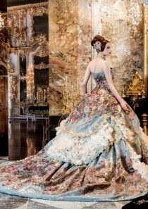 This would make an AWESOME and daring wedding gown! Beautiful Gowns, Beautiful Outfits, Fairytale Dress, Fairytale Fashion, Dream Dress, The Dress, Fancy Dress, Plain Dress, Pretty Dresses